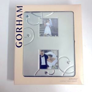 Gorham Amore Silverplated coffee table album